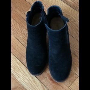 Lucy Suede Booties